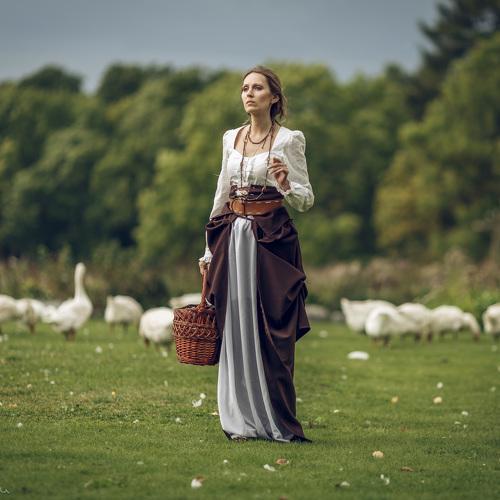Эротика про пастушку #7