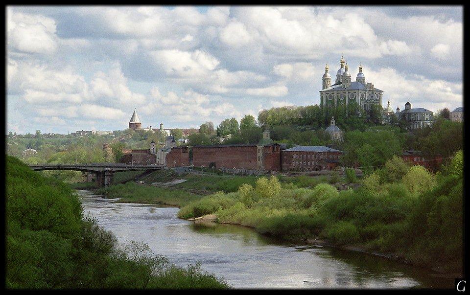 успенский собор, днепр, смоленск, весна, начало мая, Gorshkov Igor_Feanorus