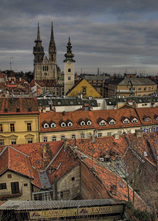 город, Загреб, путешествия, SlavaKuznetsov