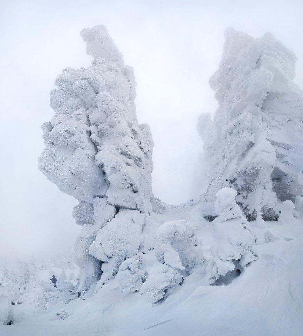 урал, зима, фотограф, скалы, останцы, Макурин Сергей