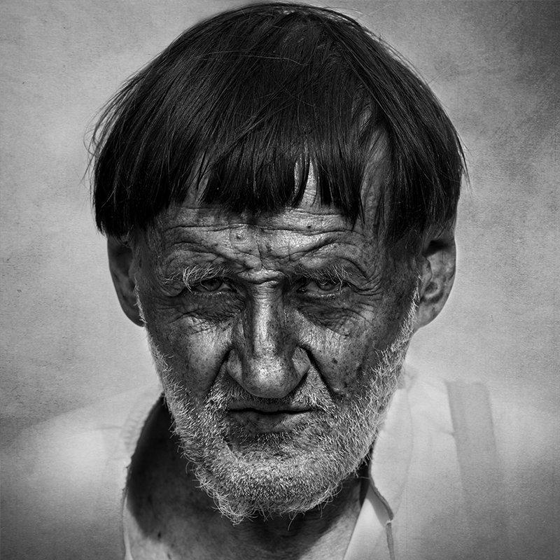 портрет, юрий калинин, фотограф, люди, лица, черно-белое,улица,юрец, лица народного, Калинин Юрий