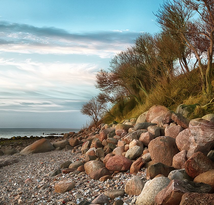 германия, балтийское море, берег, весна, Игорь Дубровский