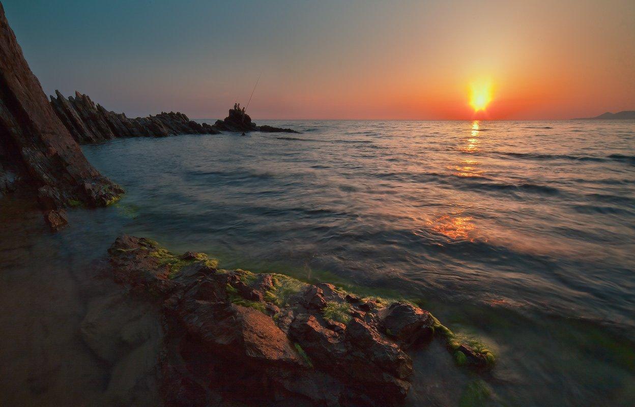 черное, море, первое, мая, вечер, Николай
