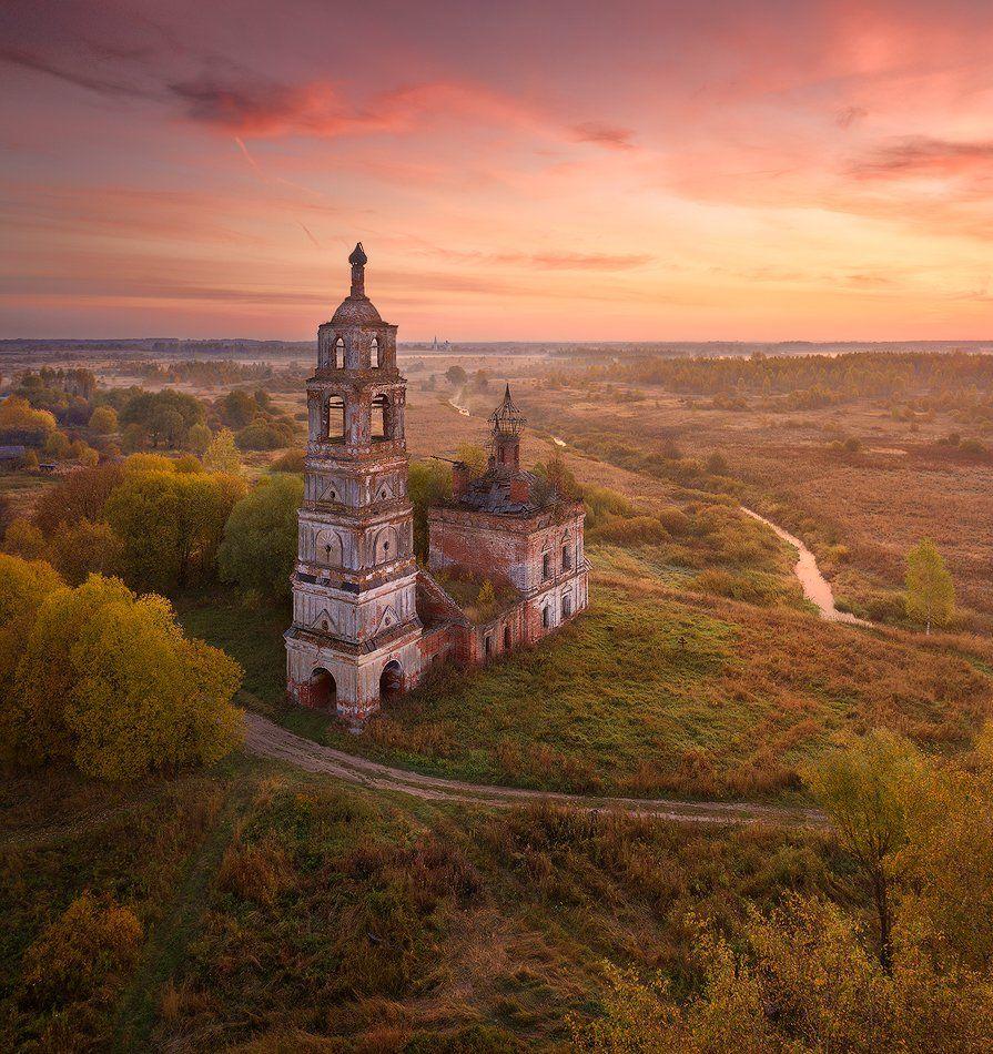 ярославская область, осень, Alex Yurko