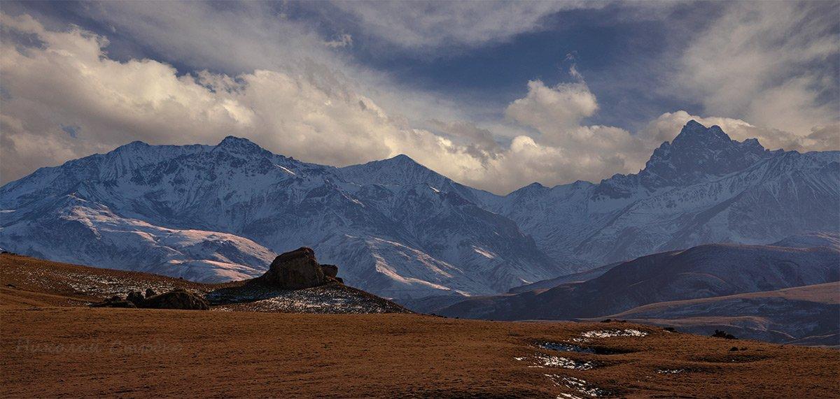 кавказ горы осень, Николай Стюбко