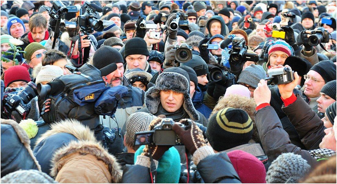 Митинг, Навальный, Протест, Дмитрий Бажанов