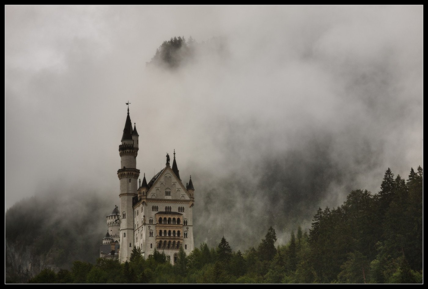 neuschwanstein, нойшванштайн, германия, бавария, замок, germany,, Ilya Shtrom