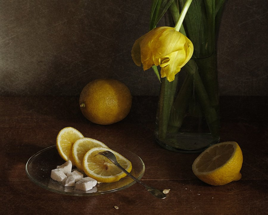 Лимон, Натюрморт, LudmilaNG