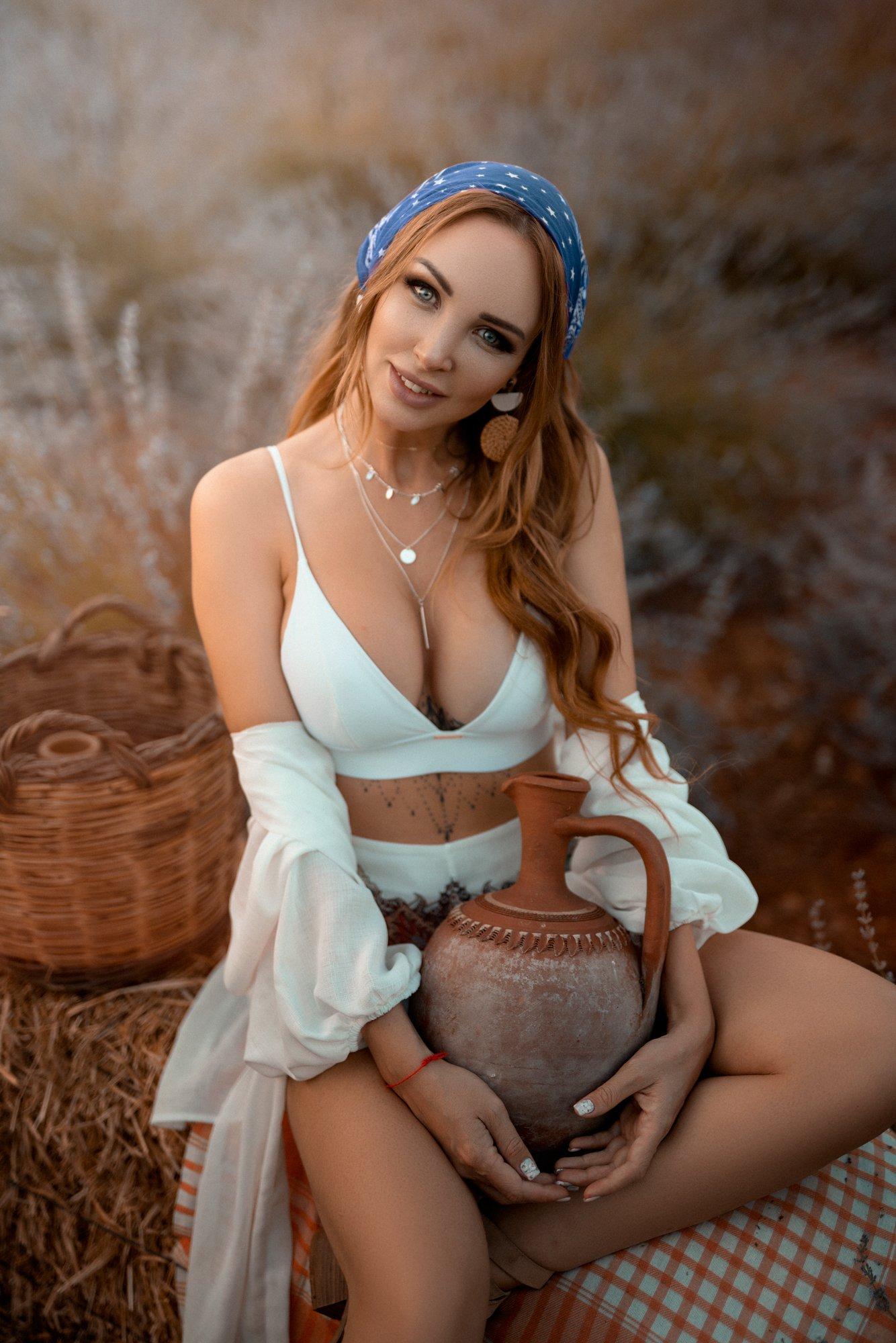 portrait, nature, fashion, girl, Анас Счастливый