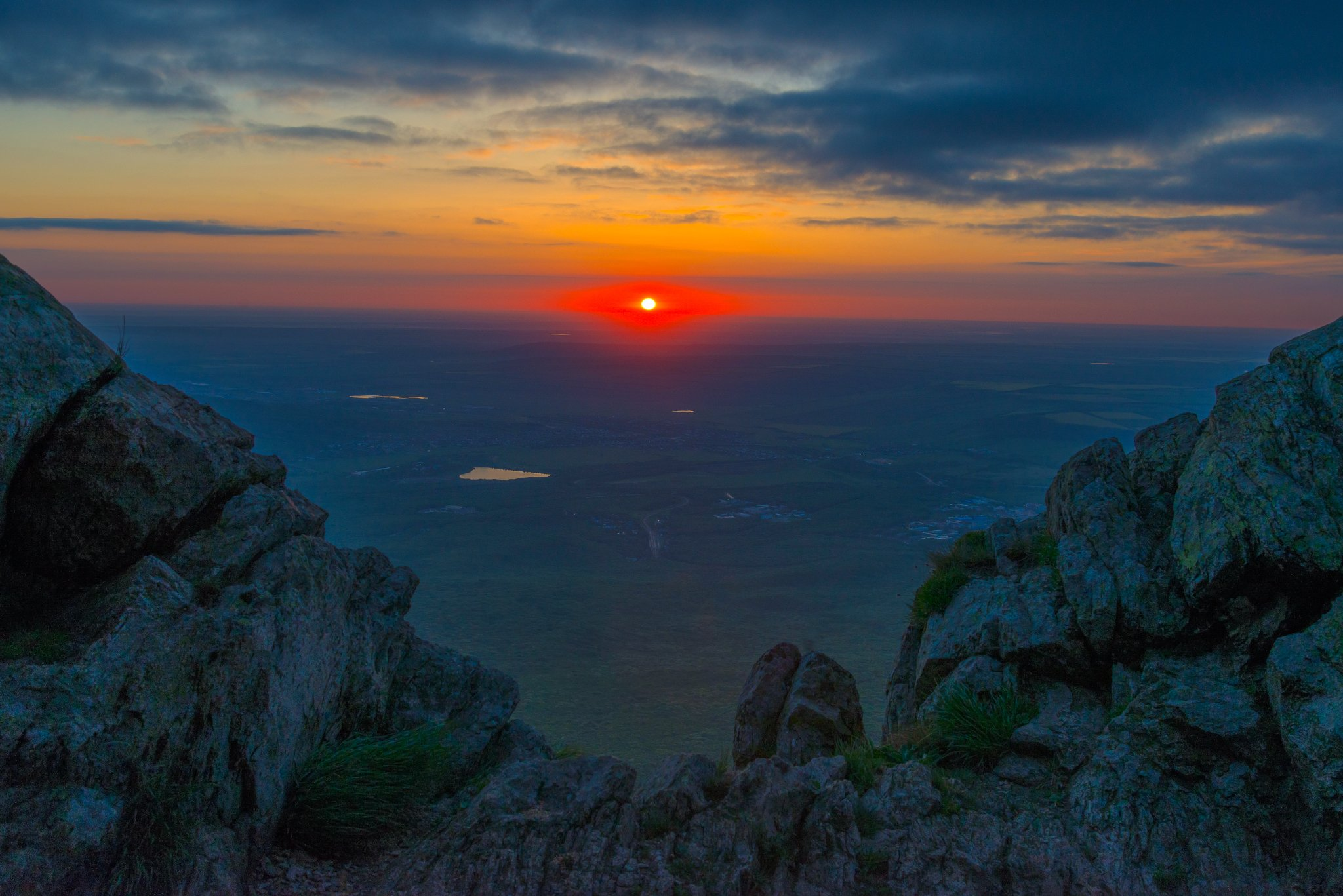 восход,горы,камни, природа,пейзаж, Елена Брежицкая
