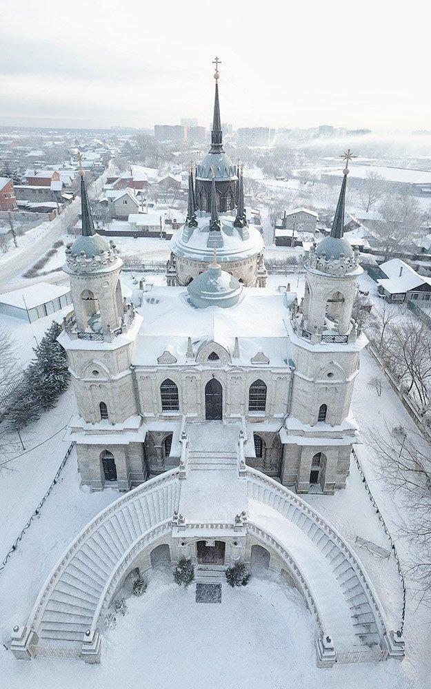 Жуковский, храм, готика, церковь, город, православие, архитектура, фотограф, Воробьев Артем