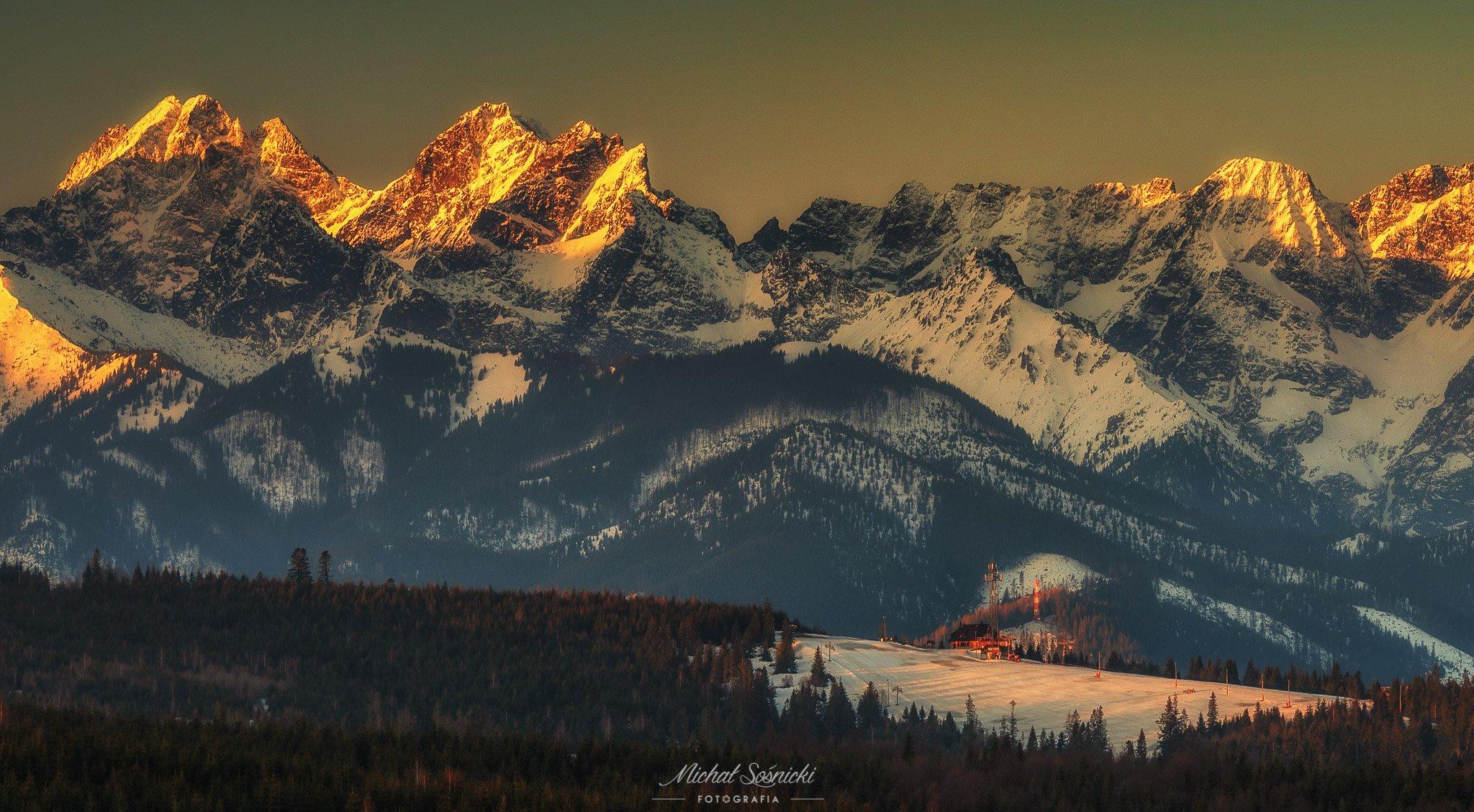 #poland #tree #sunrise #sky #nature #poland #pentax #benro #rock #mountains #spring, Sośnicki Michał