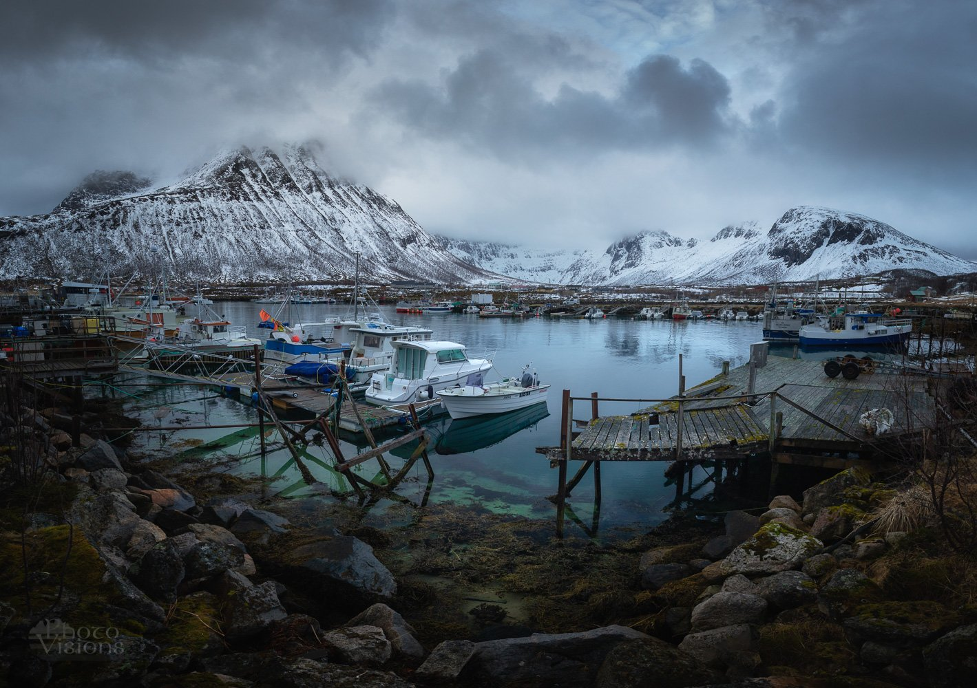 harbor,sea,mountains,norway,north,arctic,, Szatewicz Adrian