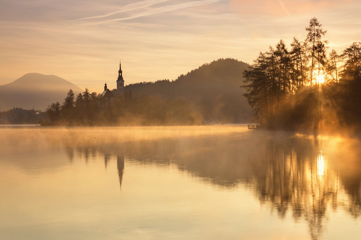 Bled, Slovenia, Блед, Словения, Денис Сорокин