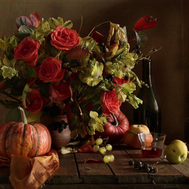 натюрморт., цветы, Svetlana Ра