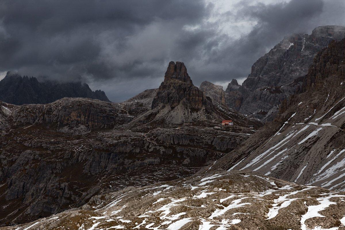 Alps, Dolomites, Italy, Tre Cime Di Lavaredo, Доломитовые Альпы, Италия, Денис Сорокин
