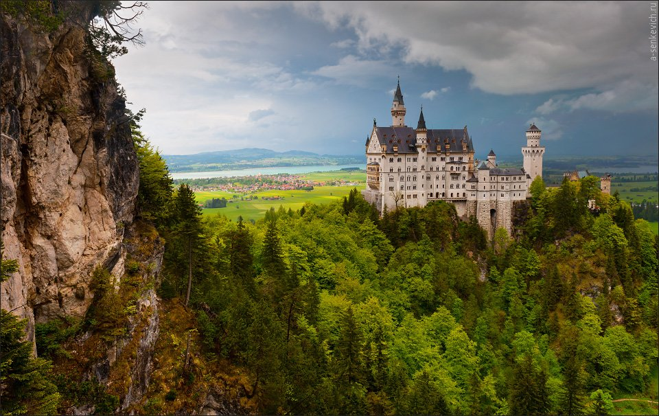 Bavaria, Marienbr?cke, Neuschwanstein, Andrew Senkevich