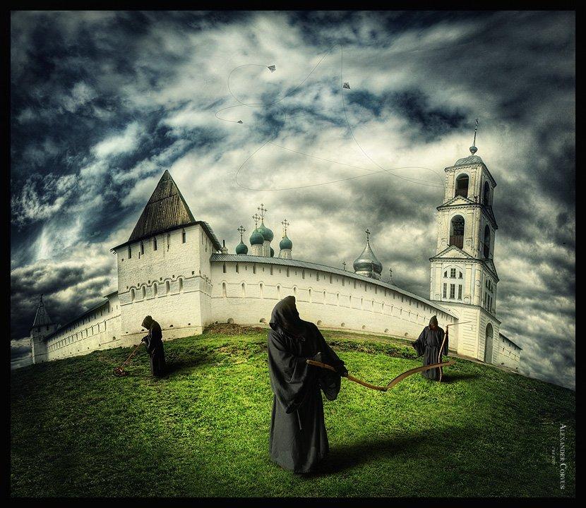 субботник, монахи, смерть,монастырь,переходы, Alexander Corvus