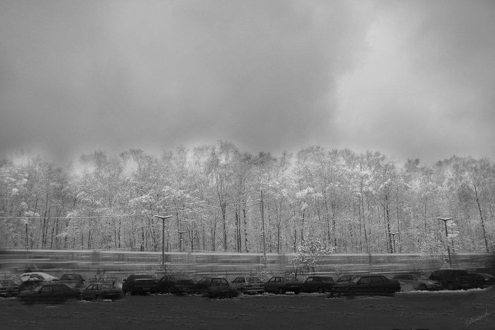 снег, зима, Dietrich