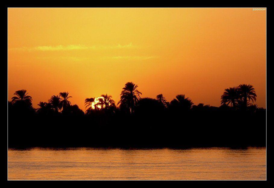 египет,нил,закат, Алексей (zooooom)