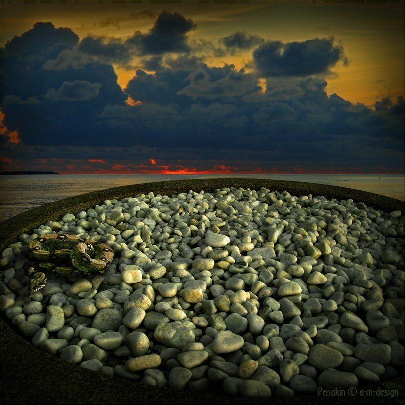 легенда, камни, смея, закат, Виктор Перякин