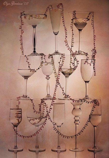 фото, стекло, праздник, бокал, натюрморт, Olga Gorelova