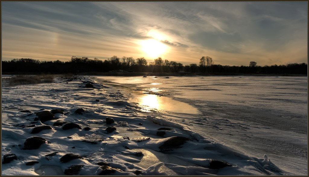 дервья, залив, зима, лёд, парк, пейзаж, петергоф, петродворец, природа, прогулка, снег, солнце, финский залив, январь, Евгений Поздняков