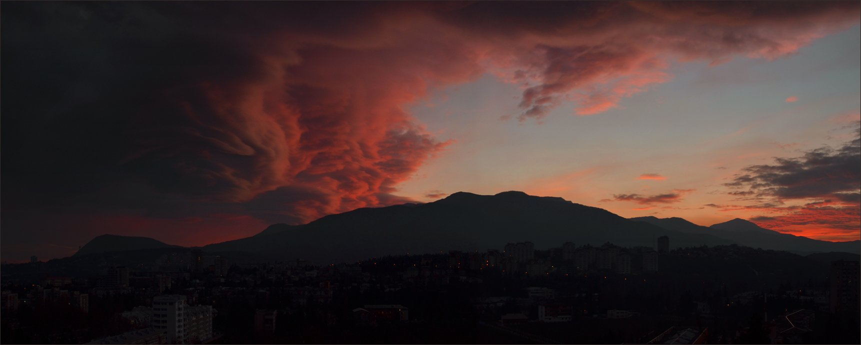 закат, крым, Владимир Метцгер