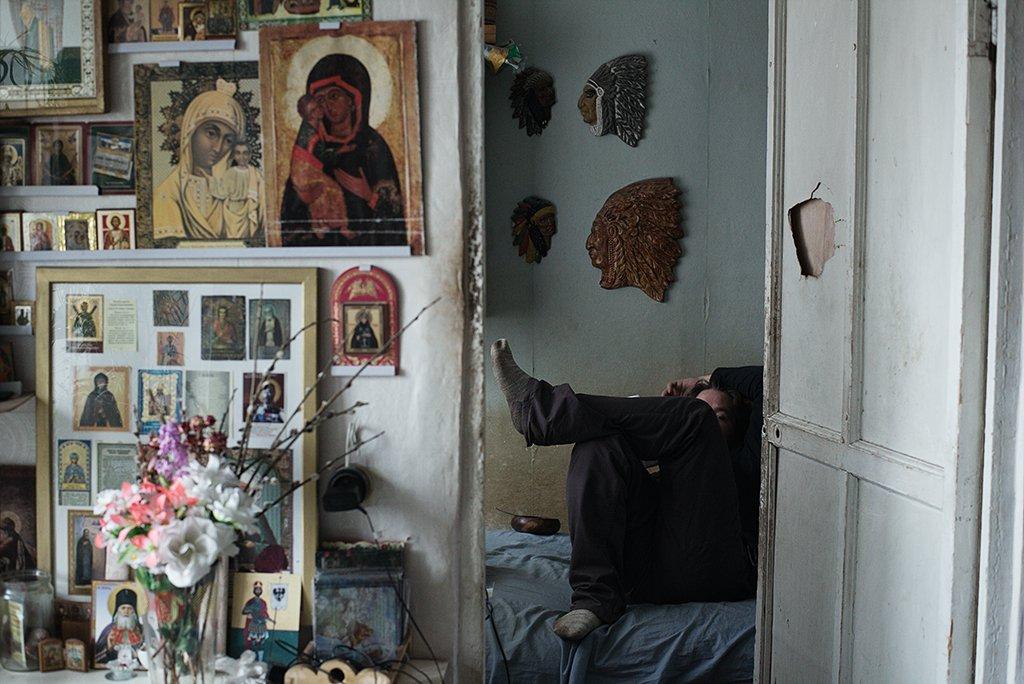 Home, Icon, Indian, Man, Orthodoxy, Russia, Роман Филиппов