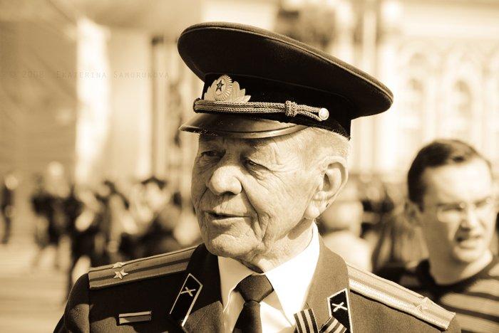 ветеран, портрет, 9мая, Екатерина Саморукова