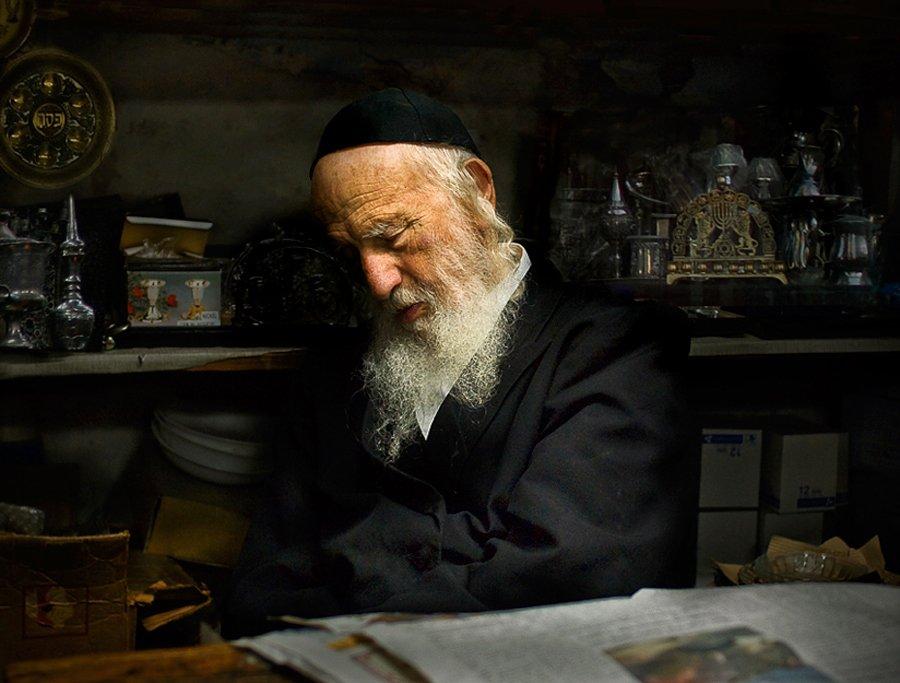 иерусалим, старик, лавочка, сувениры, старина, Maxim_Shamota