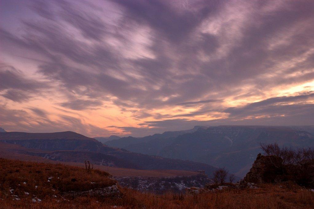 карачево-черкесия, плато бермамыт, закат, Kaiser Sozo