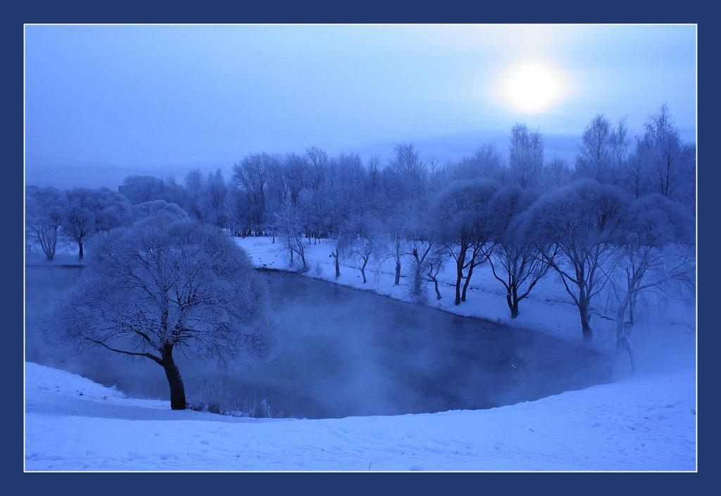 зима, холод, Клековкин Александр