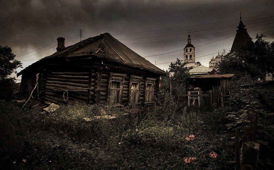 проыинция, россия, деревня, изба, Maxim_Shamota