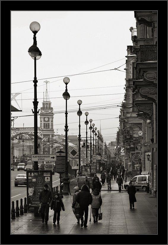 петербург,невский, зима, Kirill Shapovalov