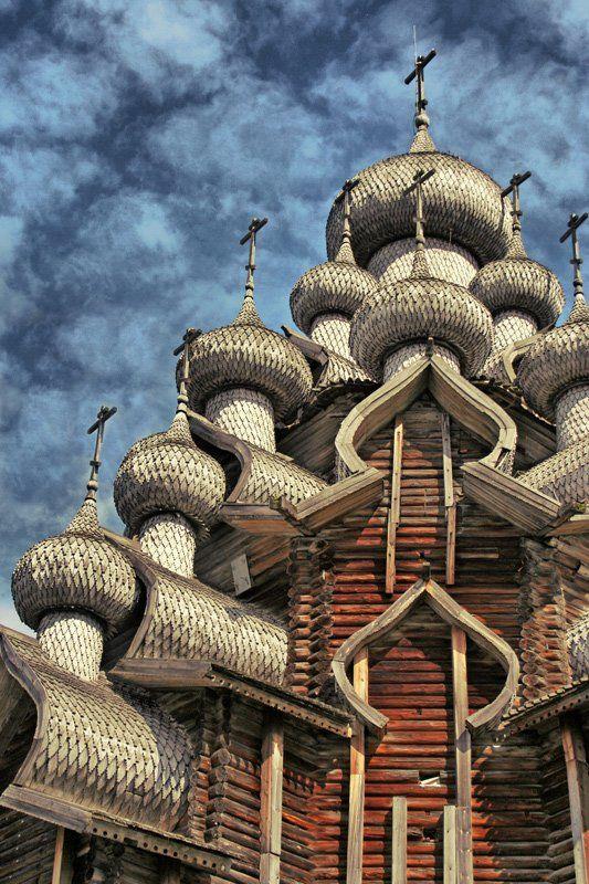 церковь, кижи, карелия, Клековкин Александр