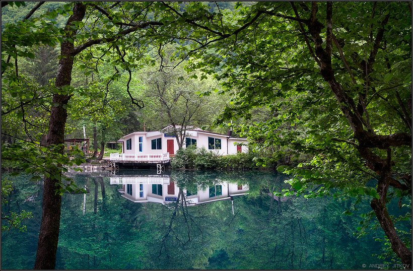 кавказ, голубые озёра, пейзаж, Андрей Житков