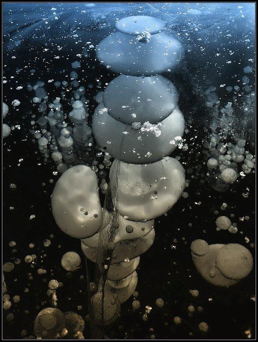 лед, пузыри, зима, Igor Glushko (Vertun)