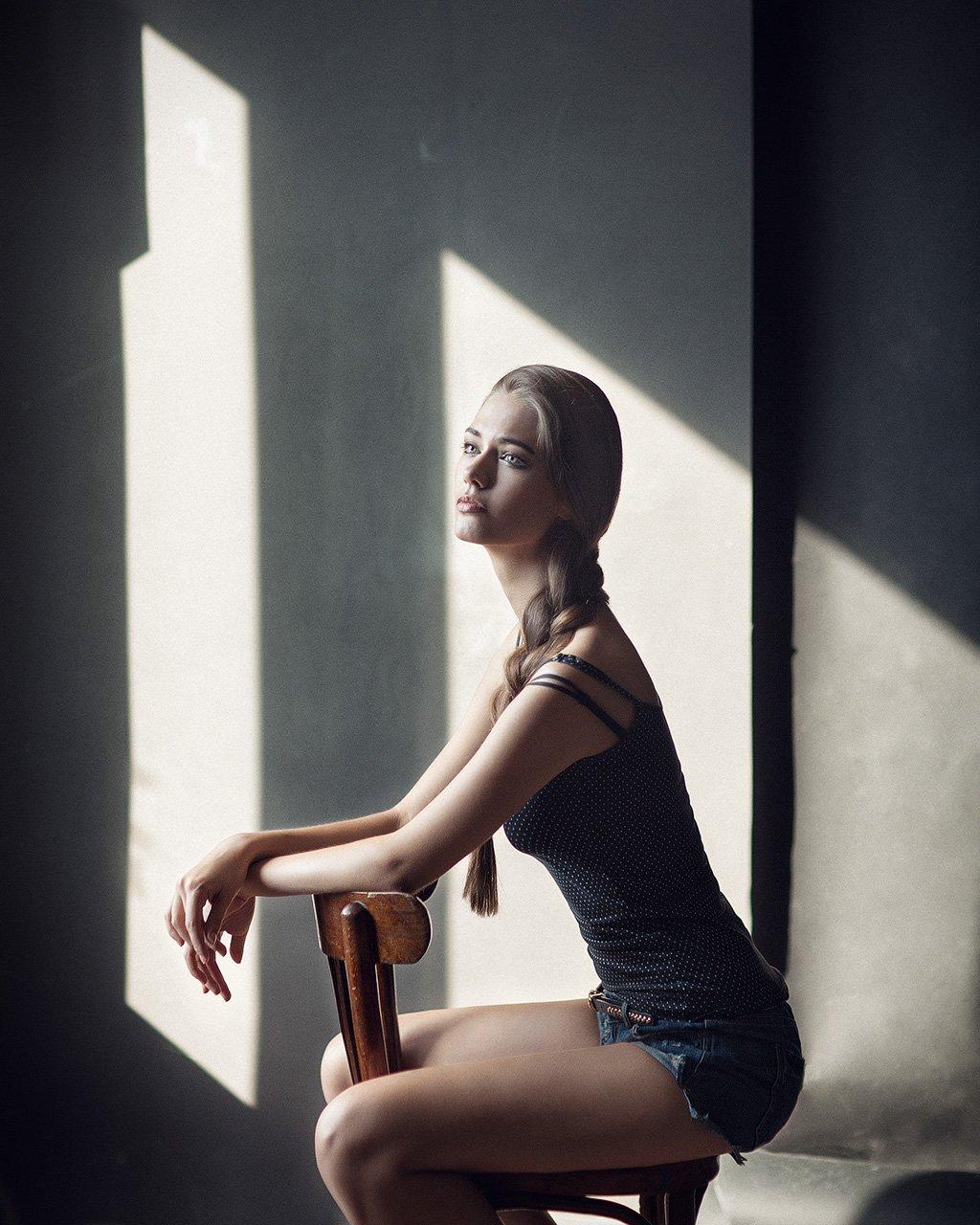 Girl, Light, People, Portrait, Казанцев Алексей