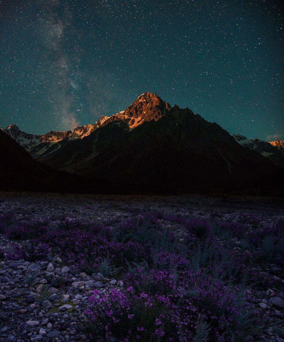 Восход луны над Тихтингеном. Елена Брежицкая