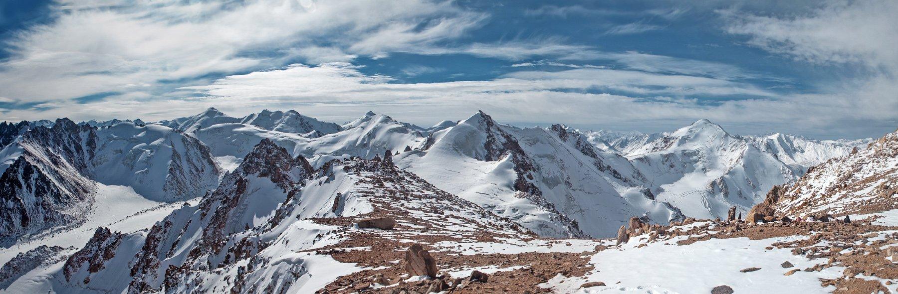 Almaty, Climb, Climbing, Clouds, Glacier, Hiking, Ice, Kazakhstan, Mountains, Peaks, Rocks, Sky, Snow, Summits, Anton Akhmatov