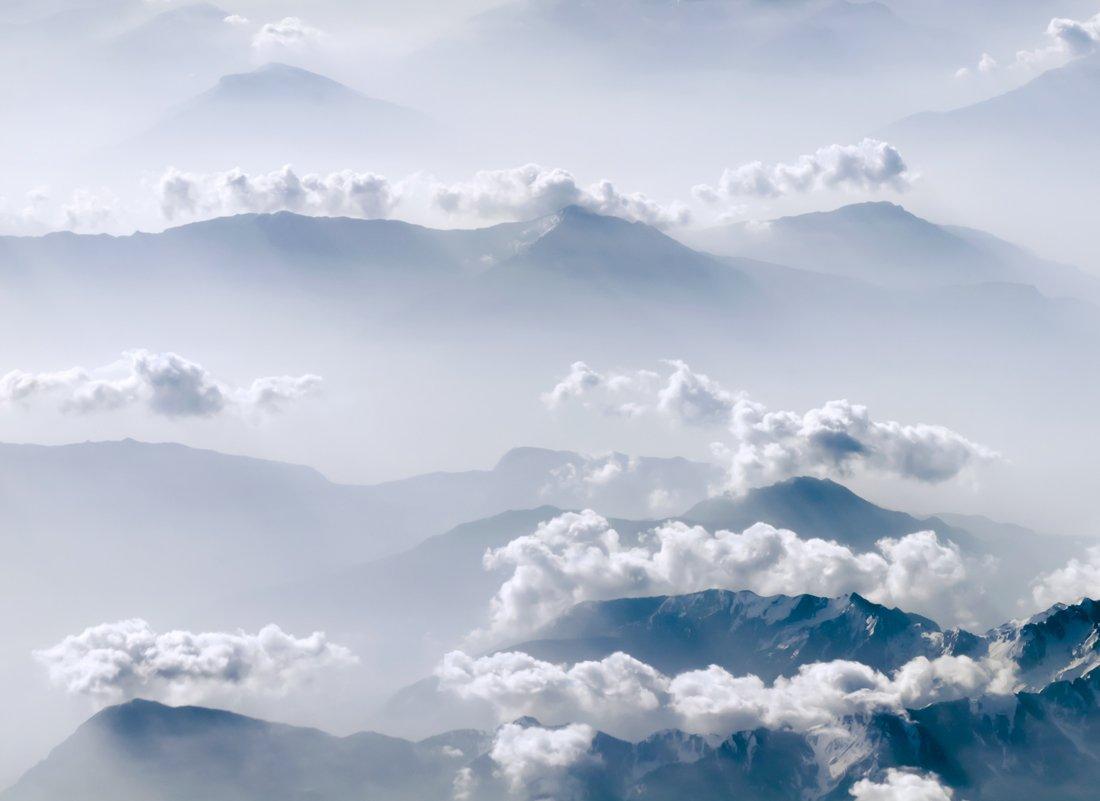альпы, высота, нежность простор, облака, Людмила