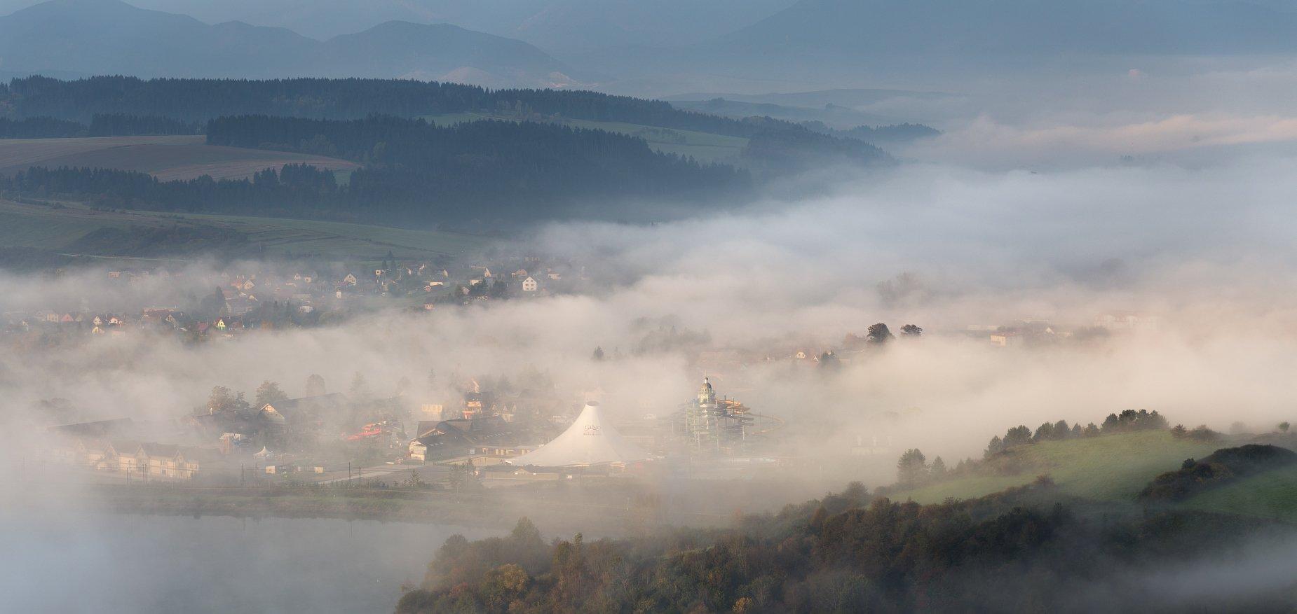 Октябрь, Словакия, Татры, Евгений Матюшенков