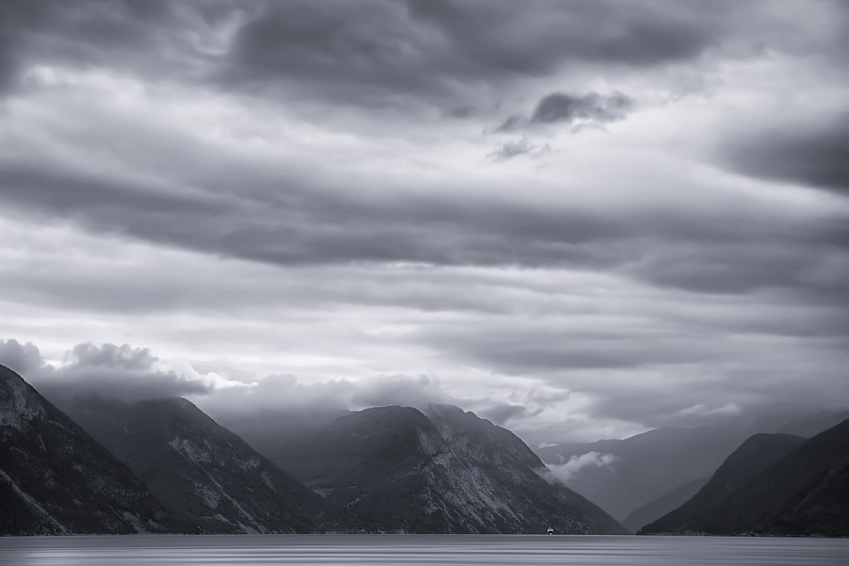 Ардалсфьорд, Норвегия, Марина Никифорова
