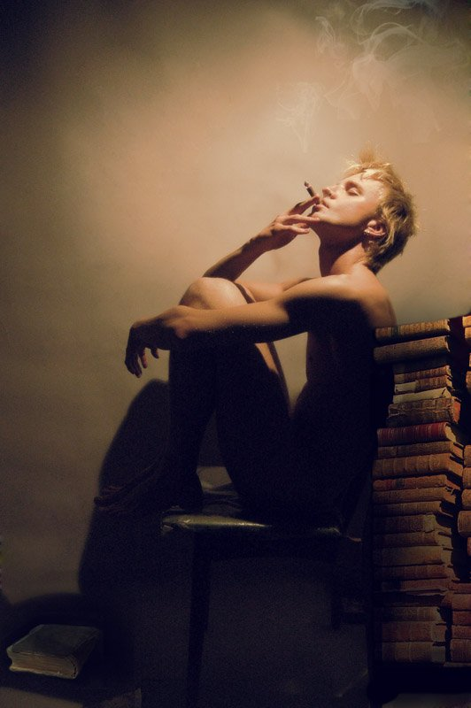 отдых, мужчина, книги, Valerie Osipovsky