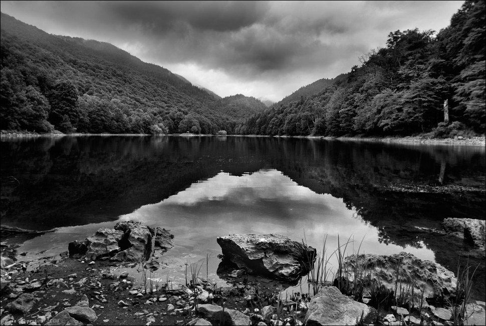 горное, озеро, камни, Илья Турецкий