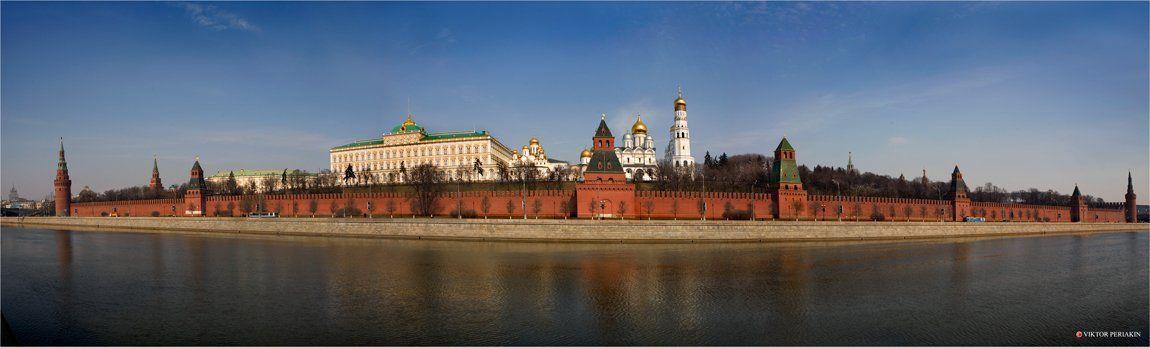москва, кремль, утро, Виктор Перякин