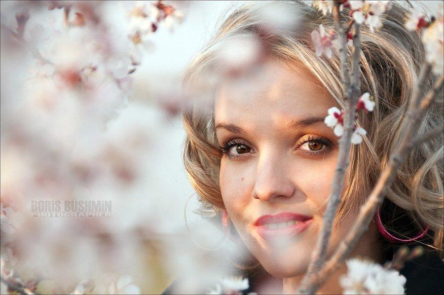 портрет, модель, девушка, борис бушмин, Борис Бушмин