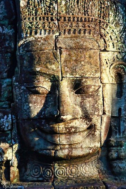 азия, камбоджа, байон, джаяварман vii, bayon, Ольга Горелова