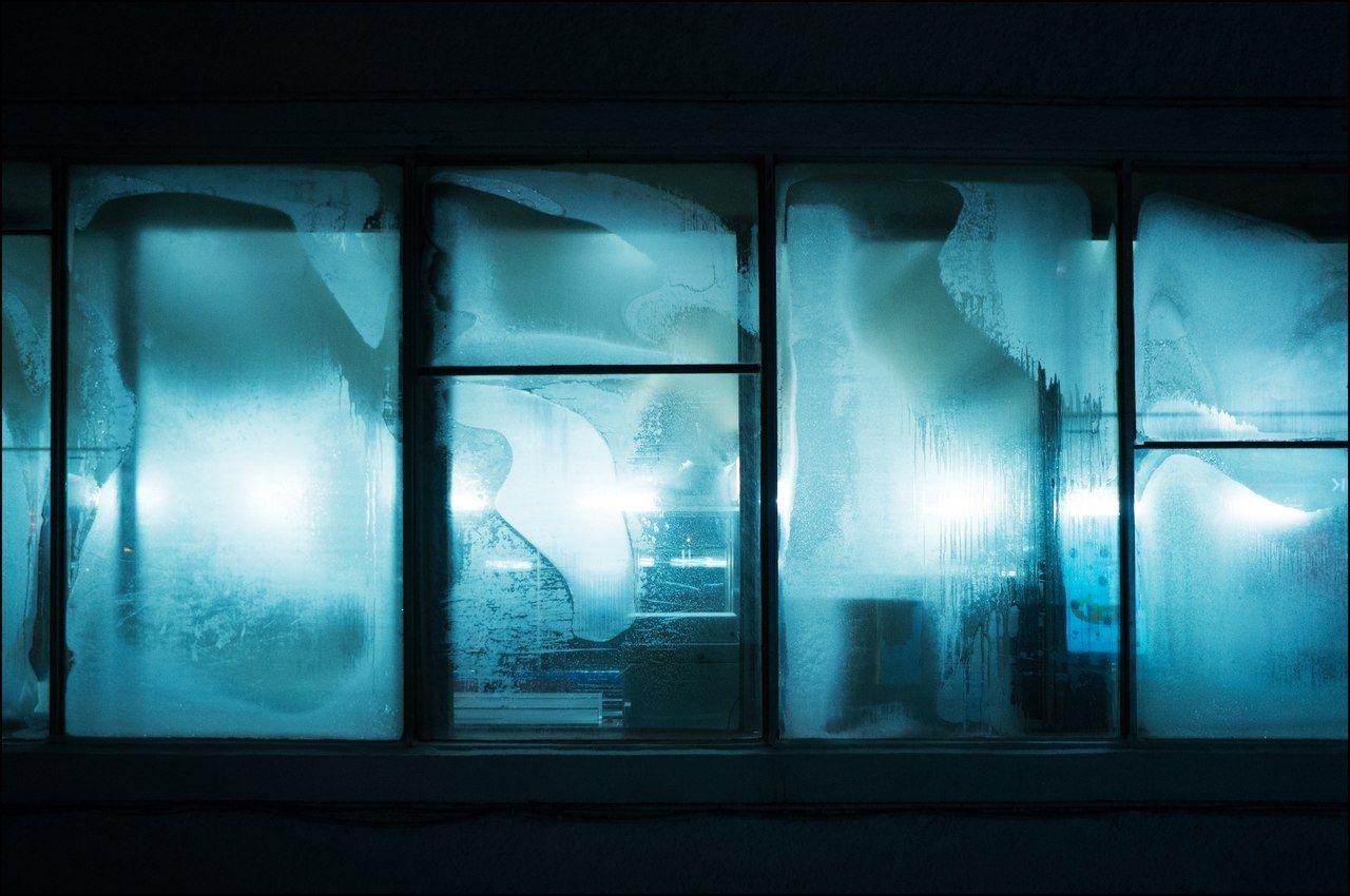 Тарбеев, tarbeev, холод, метро, окна, изморозь, мороз, узоры, Bobby